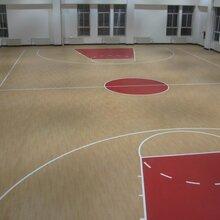 青岛篮球场塑胶运动地板