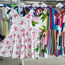 10块左右童装纯棉连衣裙批发新款蕾丝雪纺连衣裙批发童装从哪里批发便宜广州童装批发市场