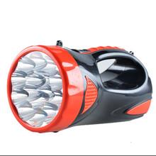 強光手電筒可充電式戶外燈家用遠射燈多功能手電筒廠家供應圖片