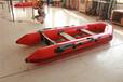加厚充氣船耐磨橡皮艇雙人充氣釣魚船救生橡皮舟廠家