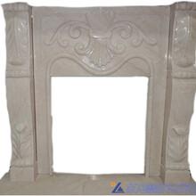 壁炉装饰石材自有矿山货源稳定壁炉大理石石材装饰