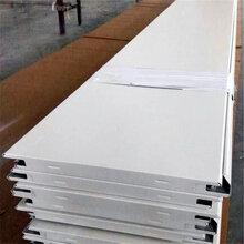 工厂直销两端折头铝扣板加油站顶棚吊顶300宽防风铝条板图片