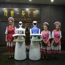 """机器人东阳餐厅当""""跑堂""""送餐机器人多少钱家用聊天机器人"""