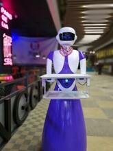 偶呀餐厅机器人多少钱---餐饮业一道亮丽的风景线送餐机器人价格