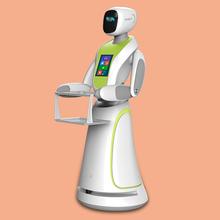 智能餐厅服务迎宾送餐机器人
