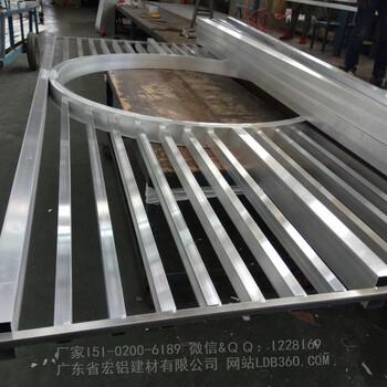 厂家生产条形铝格栅定制异形铝格栅吊顶生产公司