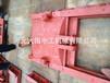 青海果洛铸铁闸门一体机安装施工过程