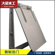 上海ypm铸铁拍门厂家价格今日最新ypm铸铁拍门价格行情走势图片