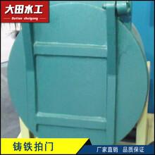 钢制双节自由式拍门价格表图片