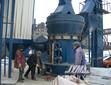 一小时20t的石膏粉生产线一体式悬辊磨粉机