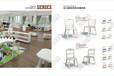 深圳貝爾康幼兒園家具安吉麗娜系列幼兒組合小沙發五件套娃娃家小沙發區域教學閱讀區