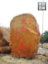 江门园林石厂家,江门黄蜡石批发,江门刻字景观石