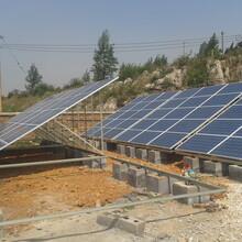 光伏水泵耀创7.5kW扬程124m流量10m³/h太阳能水泵不锈钢深井泵软启动光伏扬水