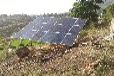 云南太陽能水泵光伏水泵系統祿勸2.2kW光伏提灌站太陽能抽水站