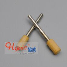协成厂家直销模具抛光软木条镜面研磨超声波木棒带柄1盒10pcs