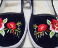 白色绣花鞋批发乐业哪里有绣花鞋