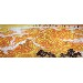 纯手绘手工画国画靠山图山水画客厅装饰画办公室风水挂画