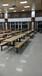 天津景區公園一體桌椅一桌四椅一桌六椅餐桌