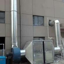 鳳崗450mm螺旋風管車間排煙工程圖片