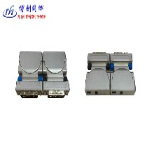 博创同辉迷你型单芯传1路DVI光端机支持4K光纤收发器图片