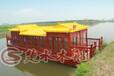 木船厂直销10-20米的画舫船餐饮观光船出售