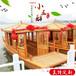 南京木船直销电动小画舫船观光旅游船出售