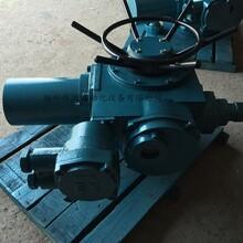 揚州緯沃DZW45開關型電動執行器配套電動閘閥圖片