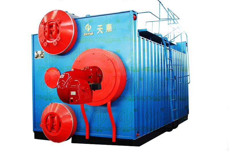 广东惠州天鹿牌szs型燃油燃气水管蒸汽(热水)锅炉