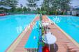 设备厂家供应钢结构整体拆装式游泳池