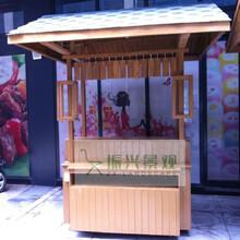 辽源供应商业街售货亭移动奶茶饮料售卖亭四平广场售卖车