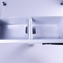 可成彩铝合金雨水管,铝合金阴沟瓦图片