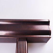 可东森游戏主管彩铝合金雨水管,桂林可东森游戏主管彩铝雨水管图片