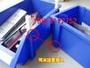 厂家直销组立式零件盒原料防静电元件盒规格蓝色螺丝零件盒