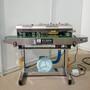 上海阿凡佬充气封口机,墨轮印字充气封口机防碎防挤压充气封口机图片