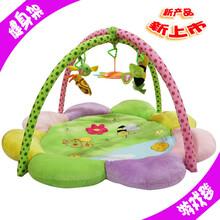 星梦月明婴儿游戏毯爬行垫毛绒加厚环保多功能宝宝健身架一件代发