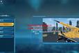 工程兵駕駛模擬訓練器-履帶式起重機教學設備