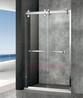 304金色不锈钢卫生间玻璃隔断简易淋浴房