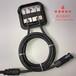 广东厂家批发省时高效自动扎带机高清触摸屏桌面式全自动扎带机