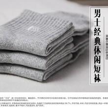 男士经典款短袜(百搭灰色三双装)图片