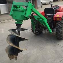 深1.5米2米坑挖坑機價格拖拉機帶動動力強勁圖片