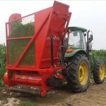 拖拉机带动秸秆回收机玉米秸秆二次粉碎回收机图片