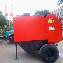 自动秸秆打捆机牵引式牧草秸秆打捆机图片
