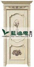 抖音同款浙江幼儿园烤漆门网络热卖柠檬黄小熊图案烤漆门图片