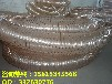 镀铜钢丝波纹自由伸缩软管PU波纹工业吸尘除尘软管扫地车专用软管
