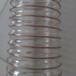 PU透明钢丝管波纹伸缩通风吸尘软管吸料管