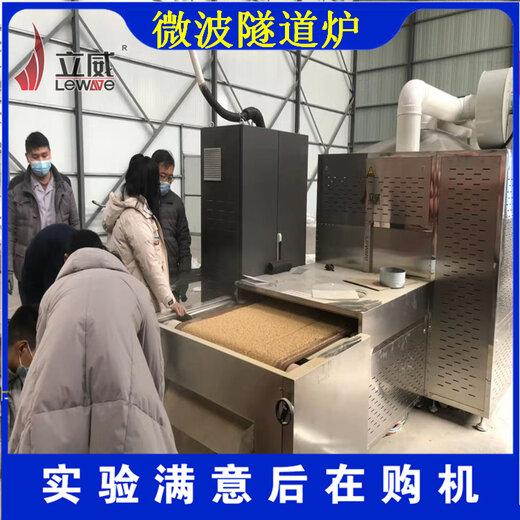 三門峽綠豆微波烘焙設備廠家價格