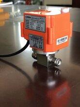 Q911电动高压球阀高压电动螺纹球阀图片