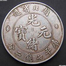 古钱币(光绪,大清,袁大头)的市场价值