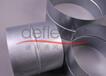 廣東迪多廠家風管直通鍍鋅鐵風管連接器圓形連接件批發