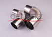 迪多廠家不銹鋼彎頭熱水器管件304排煙管熱水器配件